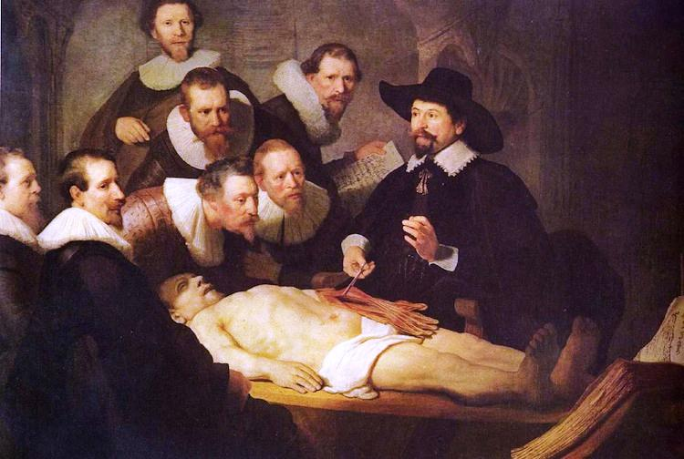 The Anatomy Lesson of Dr. Nicholaes Tulp