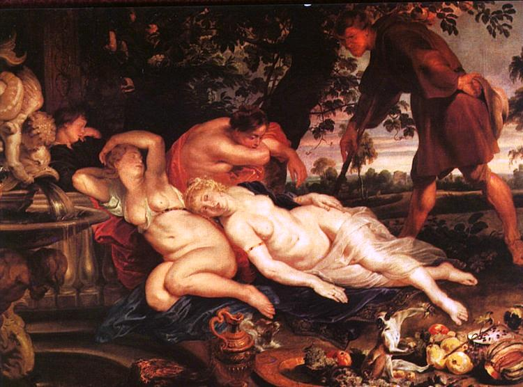 Baroque Period Artists Cimon and Iphigenia
