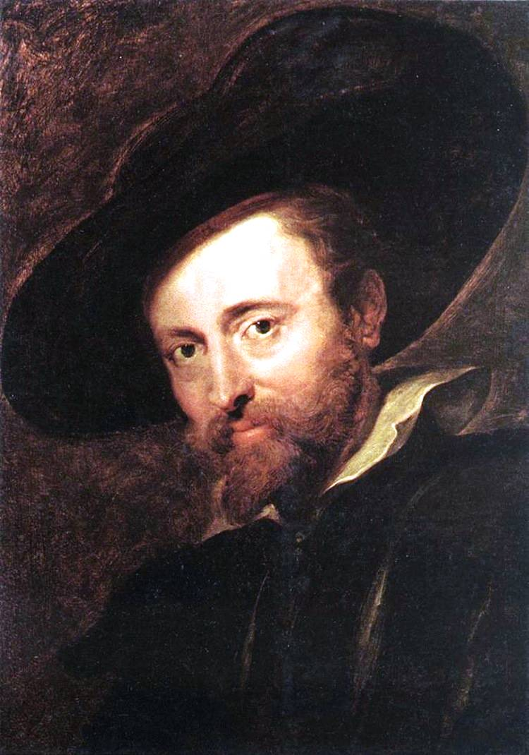Baroque Period Art Rubens Self-portrait