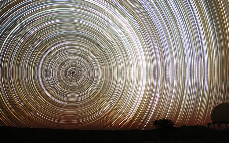 Incredible Star Trails