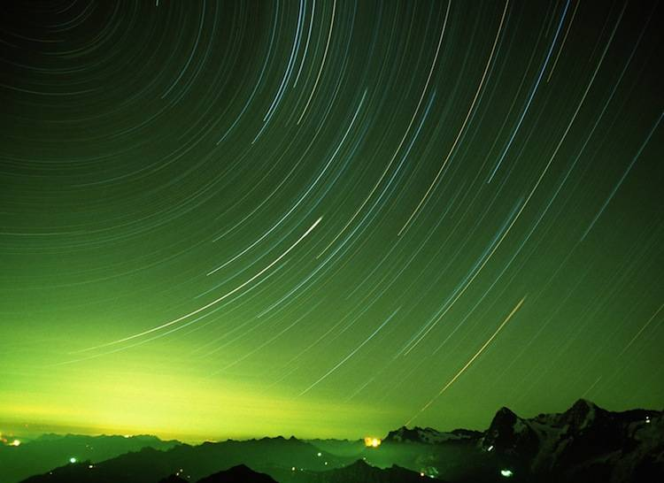 Nature's Six Most Beautiful Light Shows Star Trails