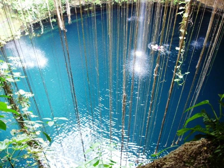 Beautiful Yucatan Lake Photograph
