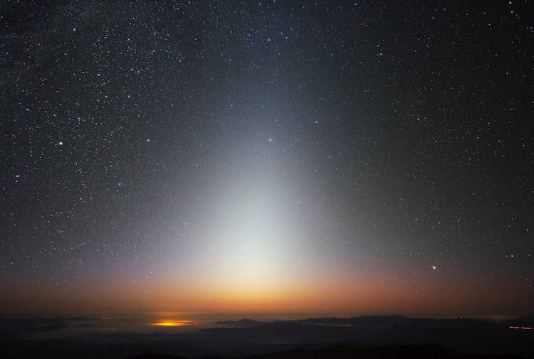Zodiacal Lights Photograph