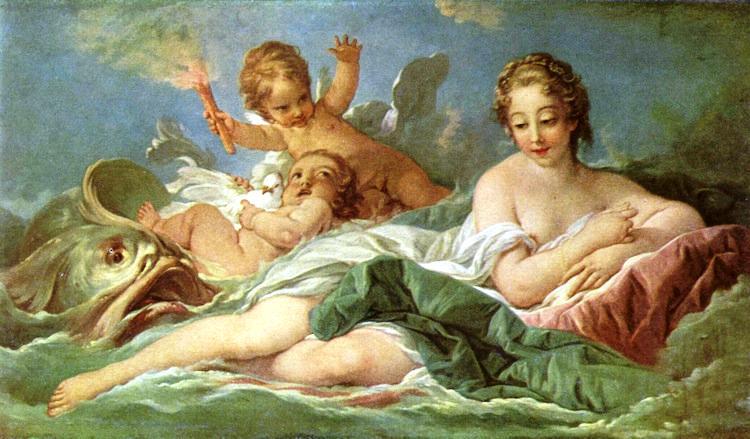 The Birth of Venus Painting