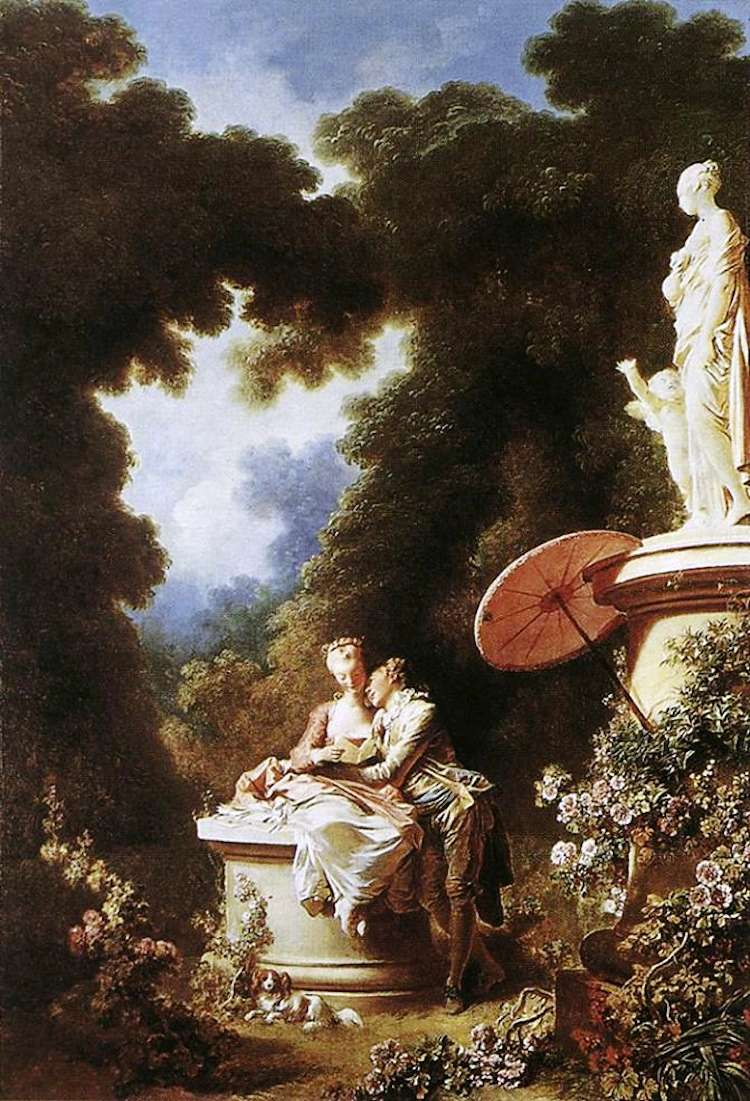 Rococo Art Movement The Confession of Love