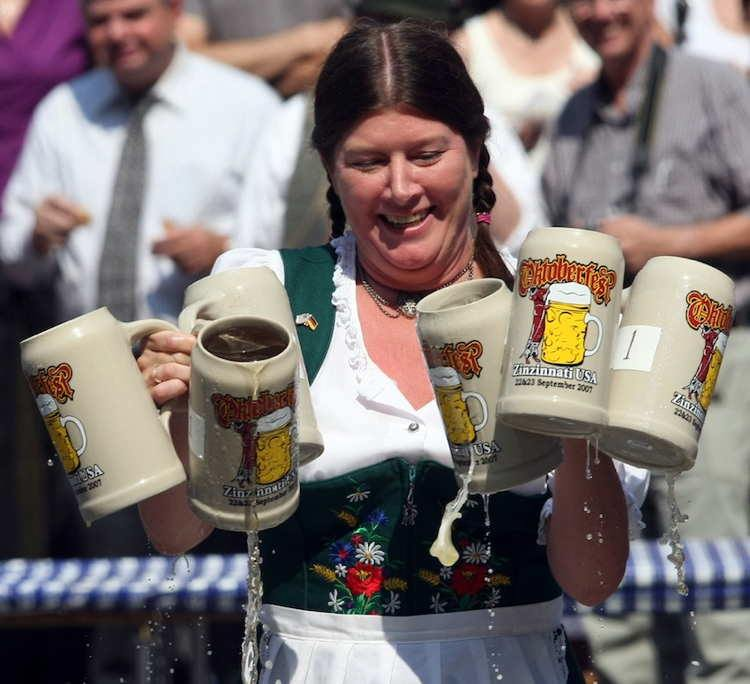 German Drinking Ritual