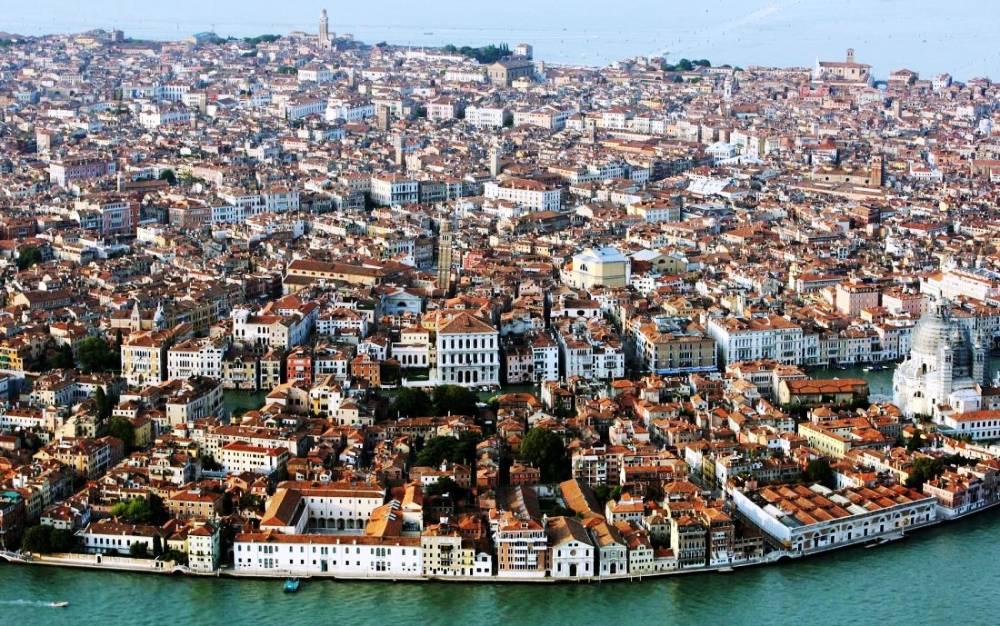 Cityscape Of Venice Photograph