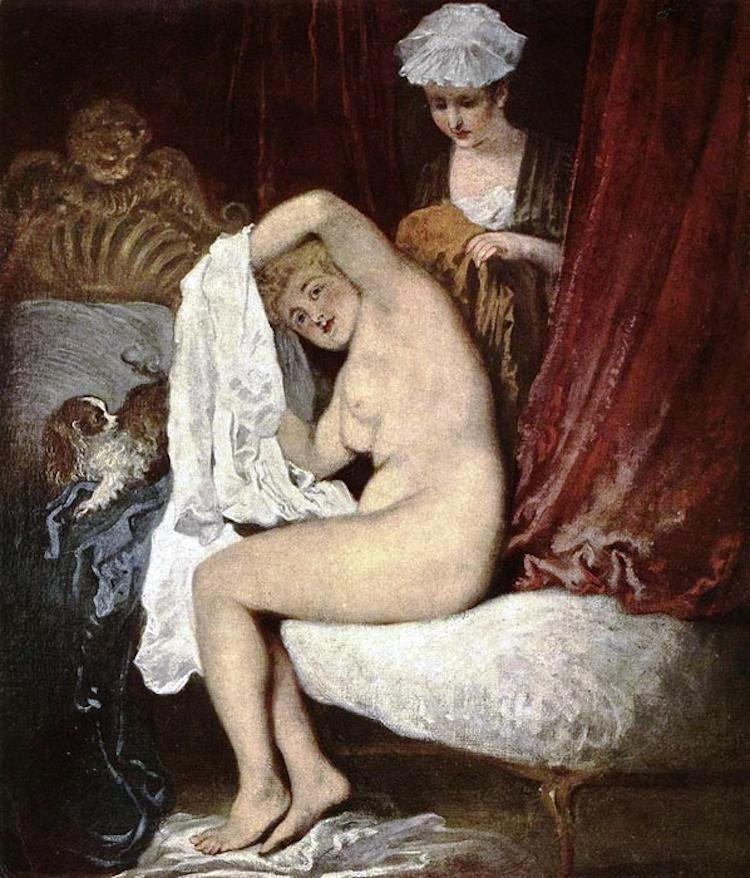 The Toilette From The Rococo Period