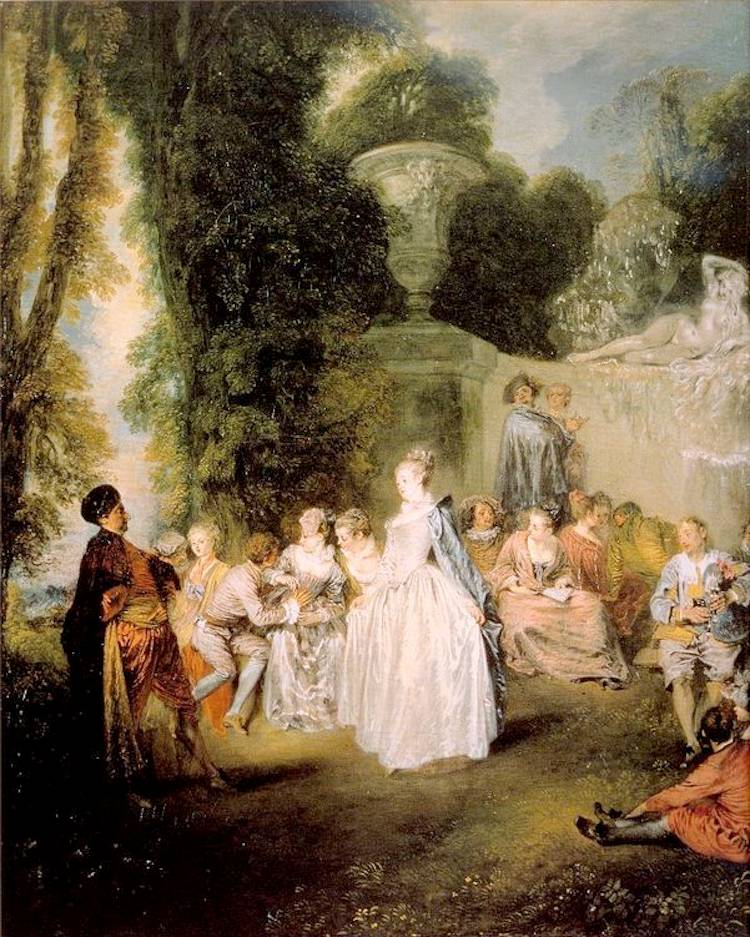 Rococo Art Venetian Pleasures
