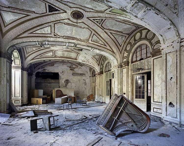 Ballroom Detroit Ruins Photo