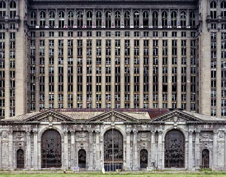 Detroit Station Photograph