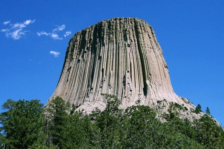 Devils Tower Rock Formation