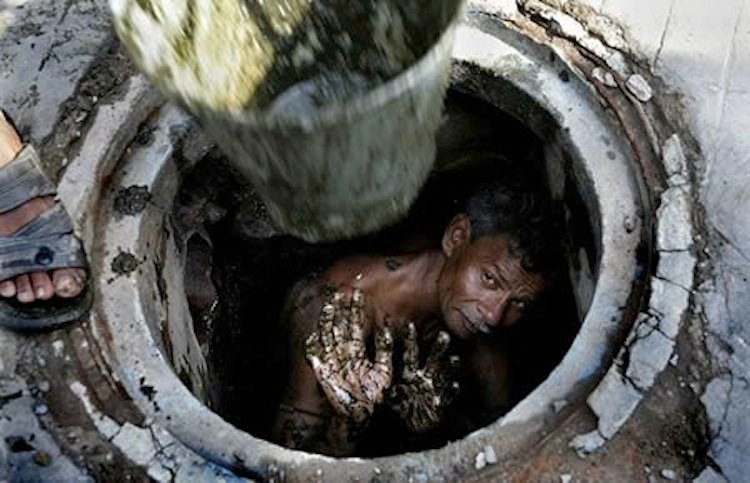 Manual Sewer Cleaner Worst Jobs In The World