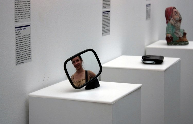 Sideview Mirror From The Broken Relationships Museum