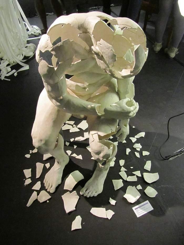 Sculpture At Broken Relationships Museum