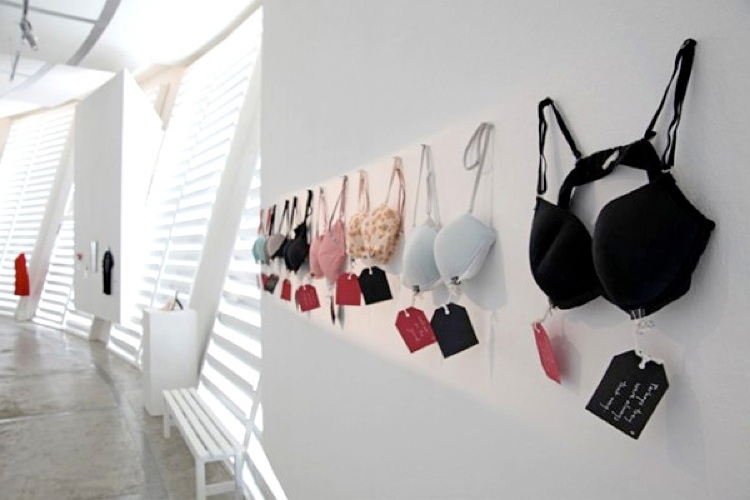 Undergarments At The Museum Of Broken Relationships