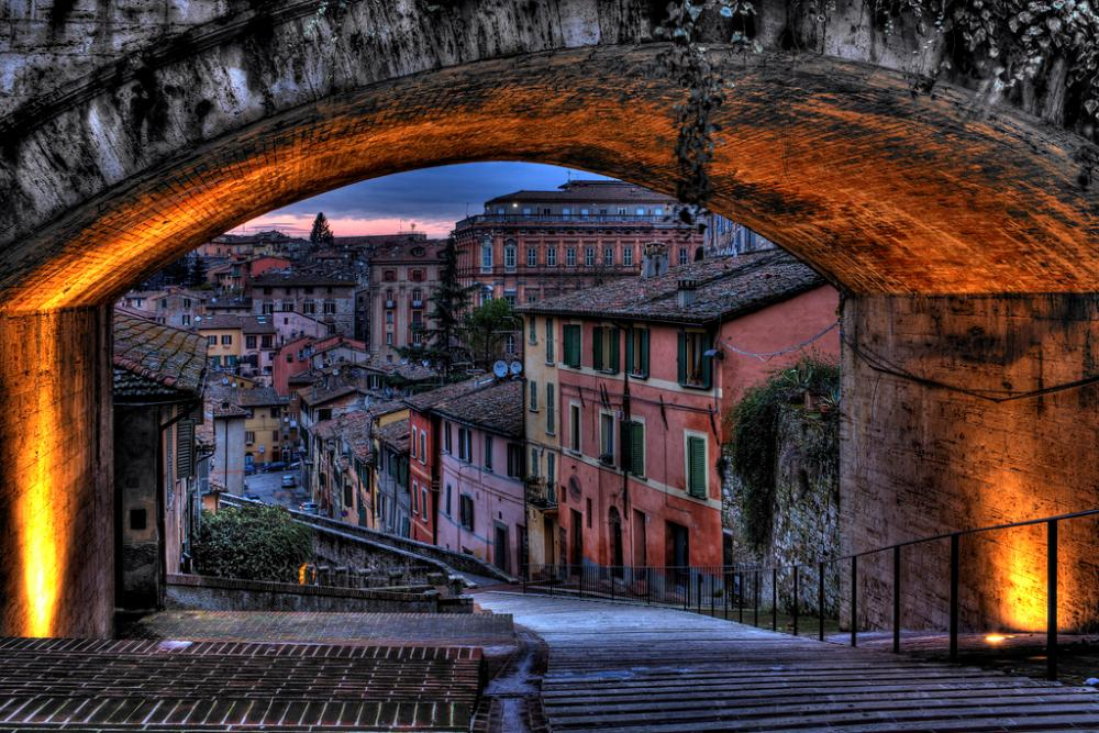 Perugia Italy Photograph
