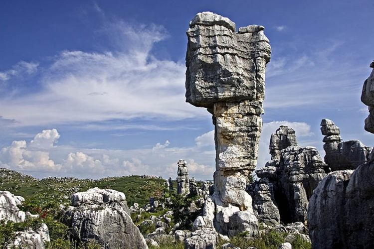 Chinas Stone Forest Formations