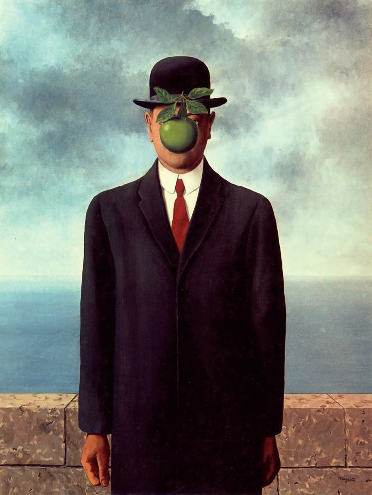 Surrealist Art The Son Of Man Painting