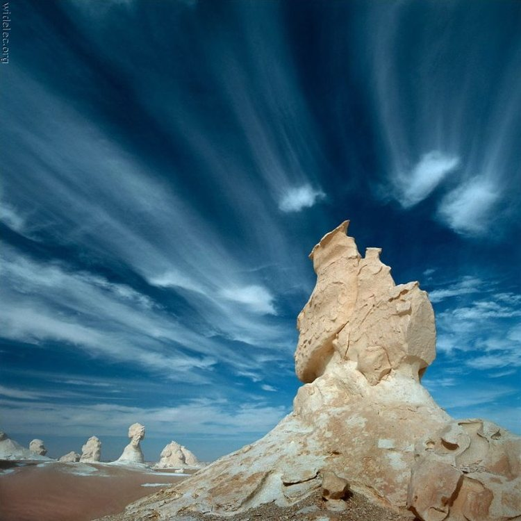 Egypts Rock Formations In The White Desert