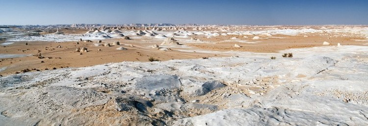 Rock Formations At The White Desert In Egypt