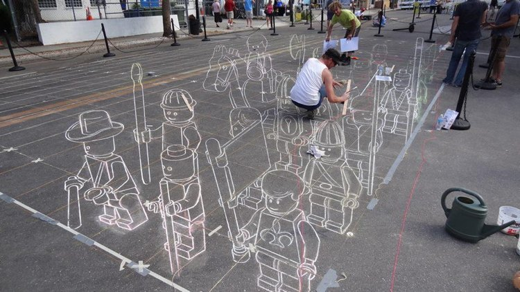 3D Figures Best Street Art 2011