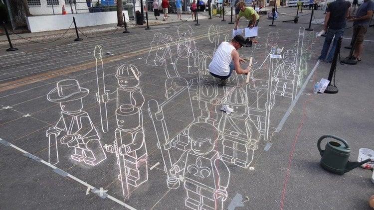 3D Figures Best Street Art 2011