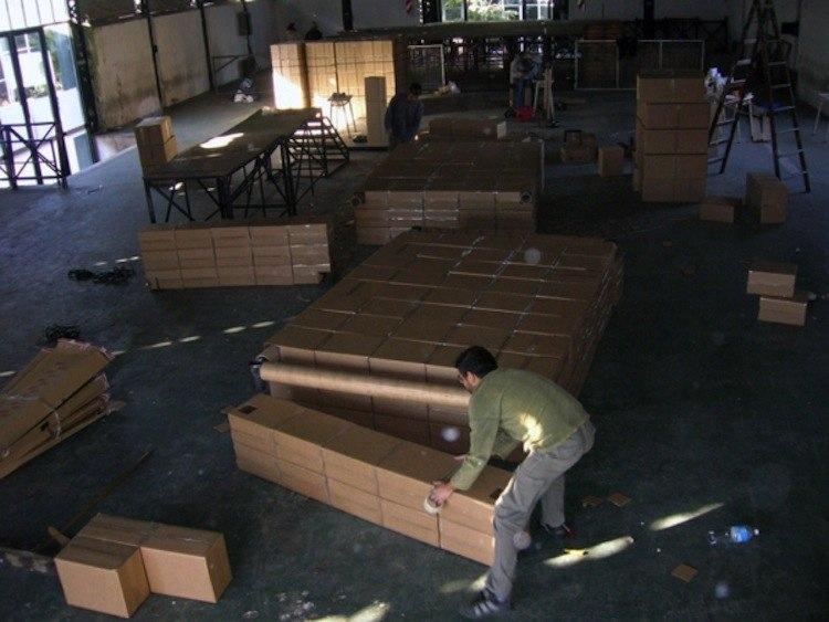 Box Man Art