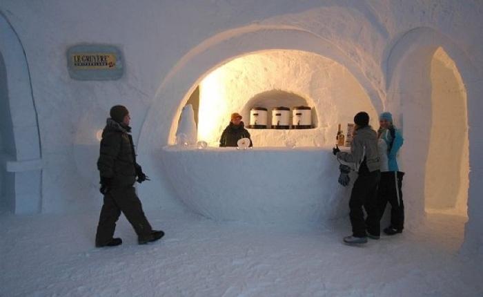 Iglu-Dorf Bar