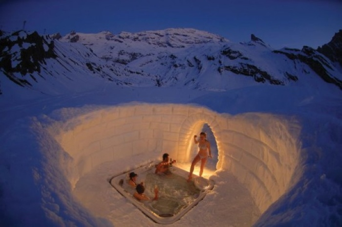 Luxury Igloo Hotel In Europe