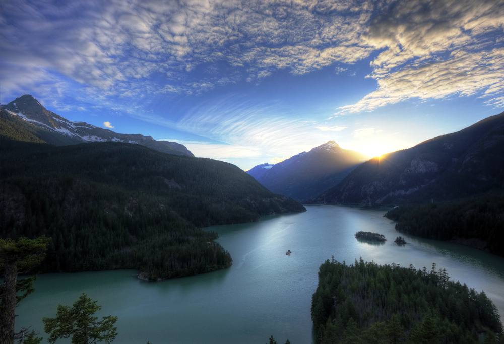Diablo Lake Photograph