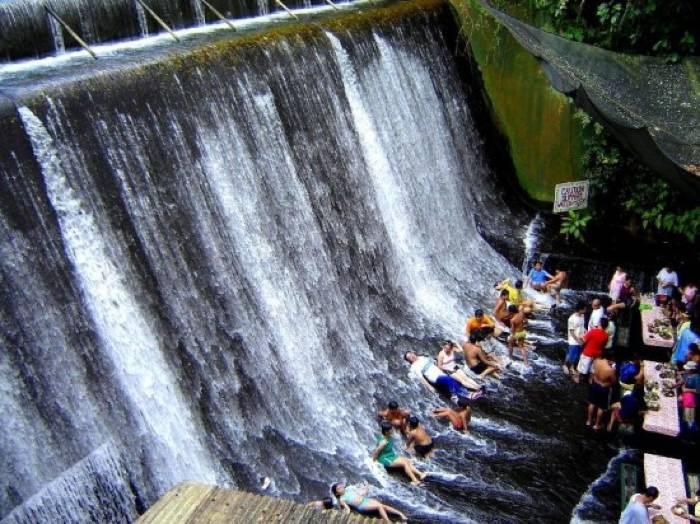 Filipino Waterfall Restaurant  Fall Guests