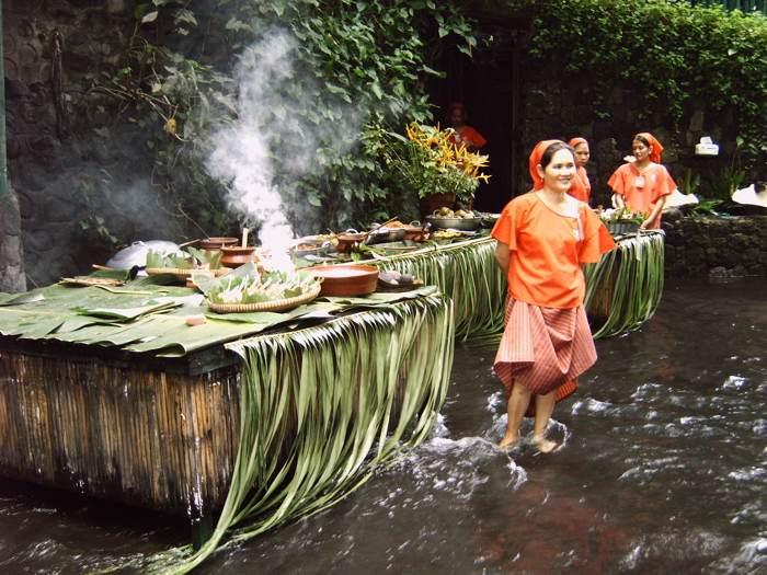 Filipino Waterfall Restaurant Cooks