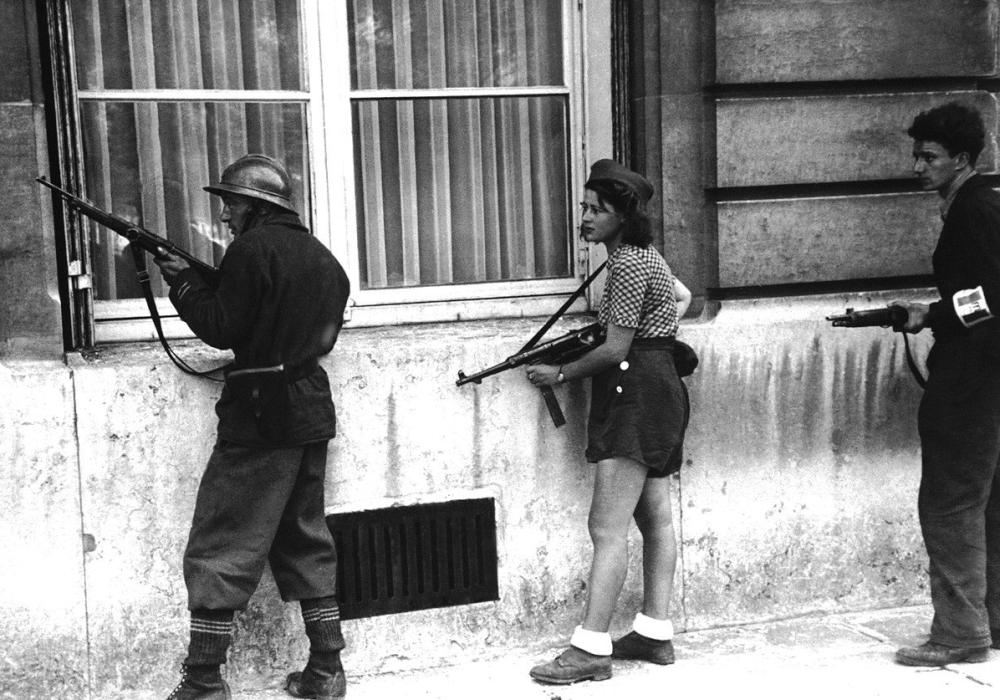 1944 French Resistance Photograph