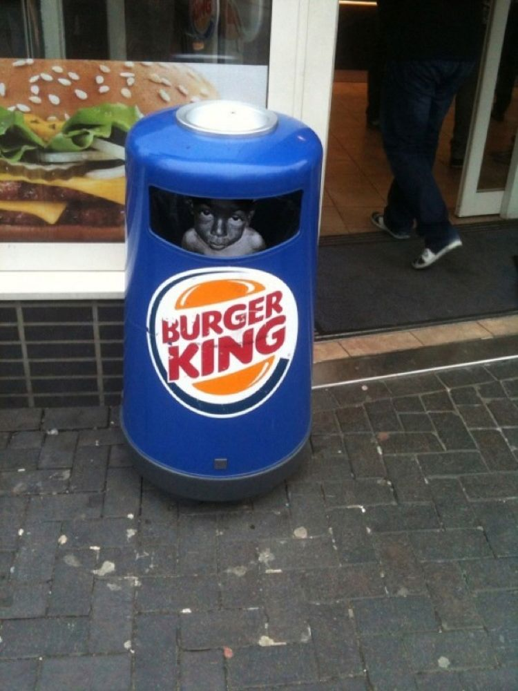 Burger King Fantastic Street Art