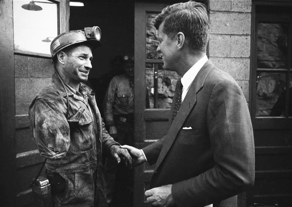 jfk campaigns west virginia 1960 John F. Kennedy Campaigns In West Virginia In 1960