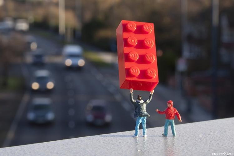 Lego Angst Best Pavement Art Of 2011