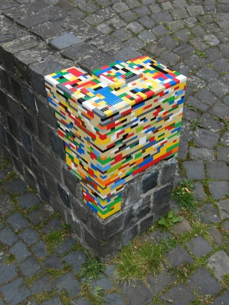 Lego Ledge Street Art