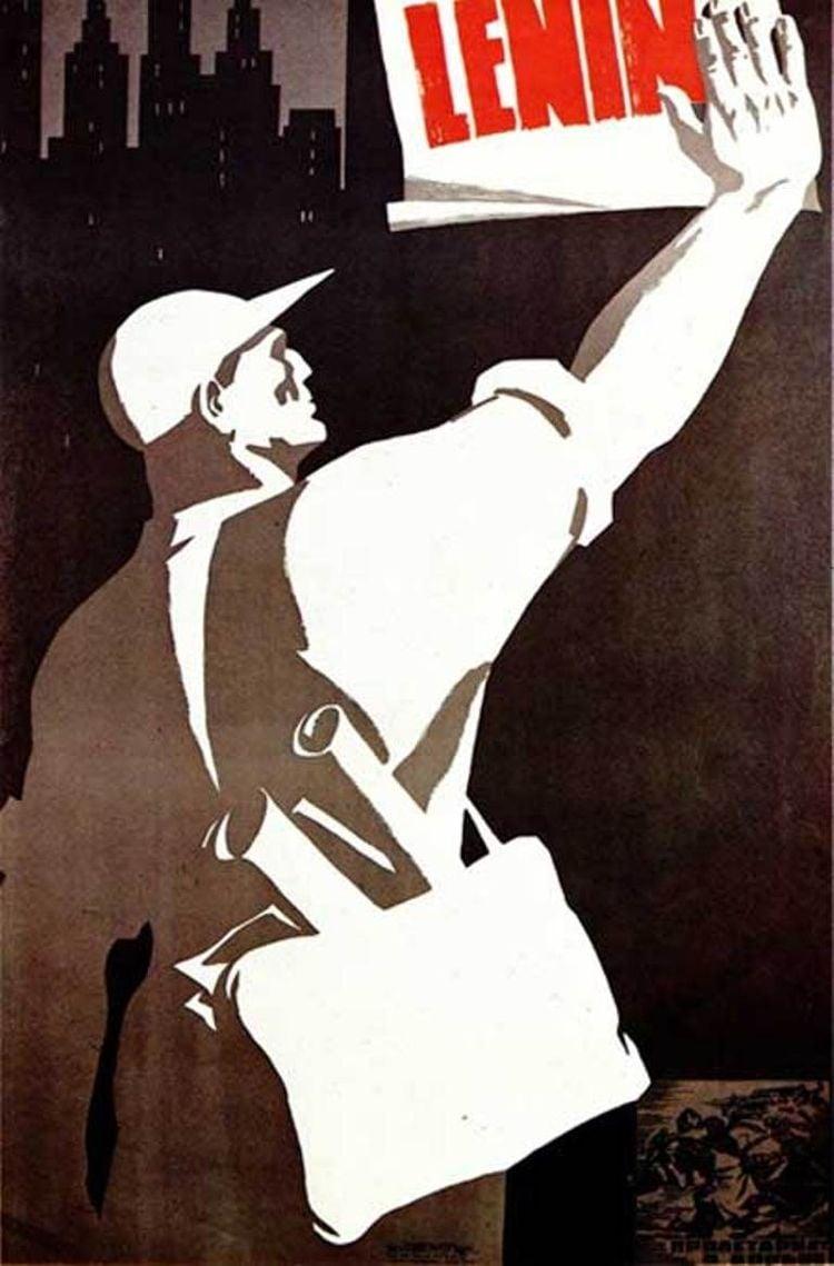Soviet Propaganda Posters Lenin