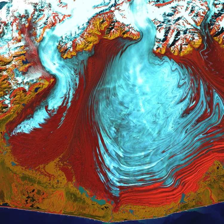 Malaspina Glacier Images Of Earth