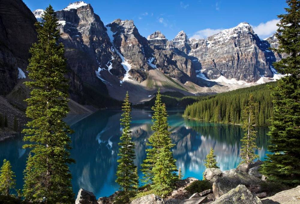 Lake Moraine Photograph