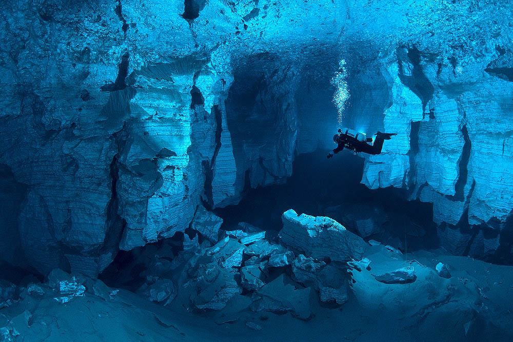 Orda Cave Russia's Enchanting Underwater Cave