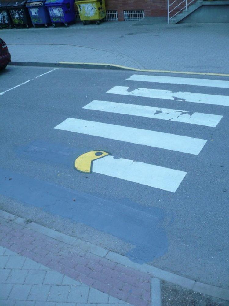 Pacman Cool Street Art