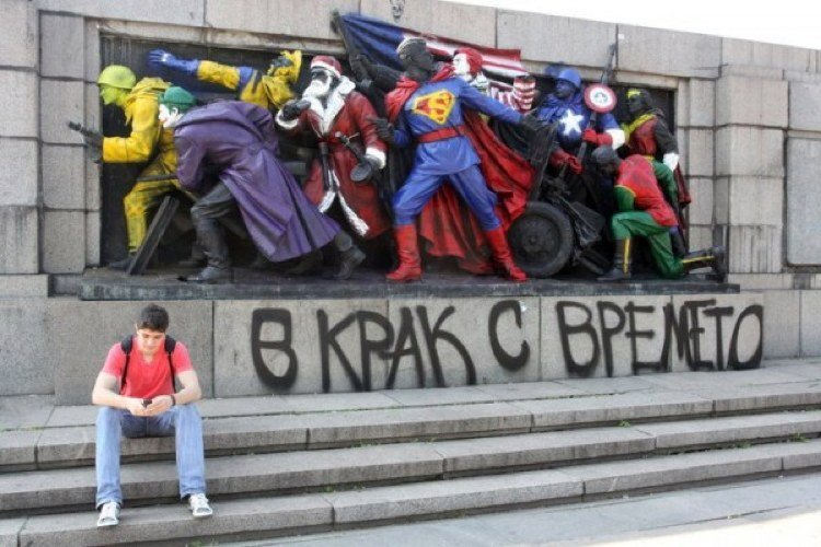 real heroes The Best Street Art Of 2011