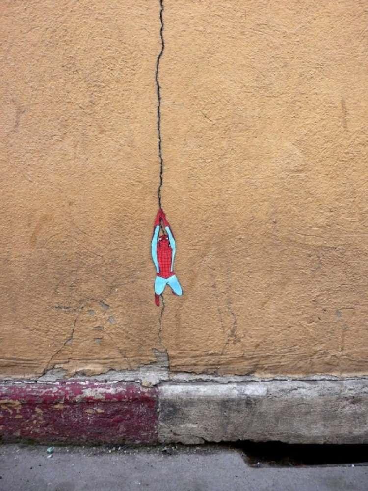 Spidey Street Art 2011