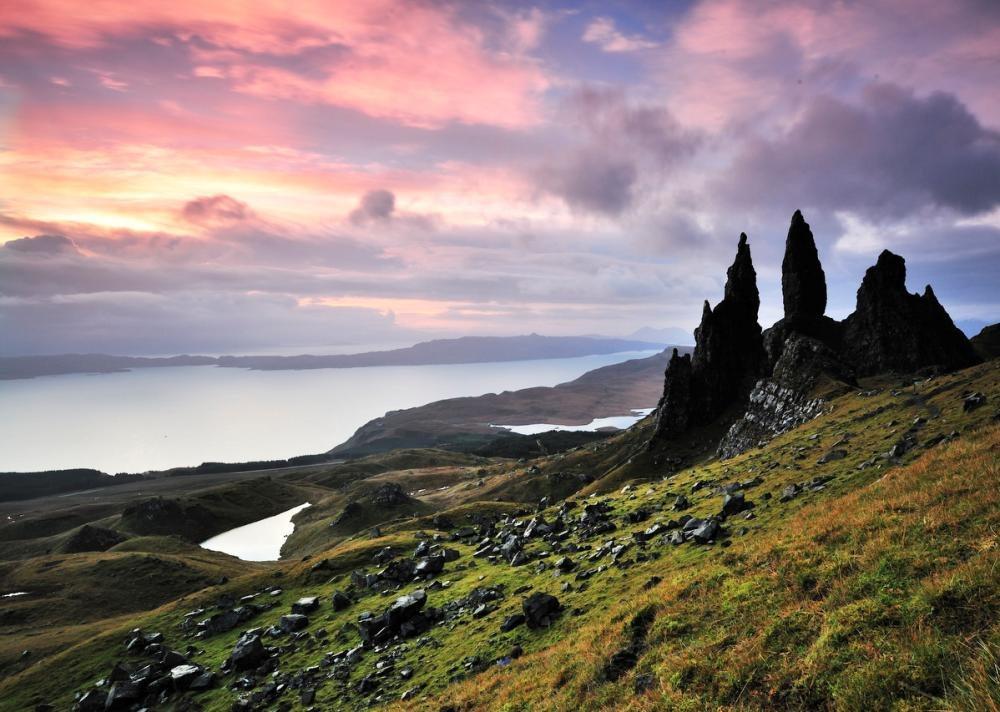 Sunrise Scotland Isle of Stoff