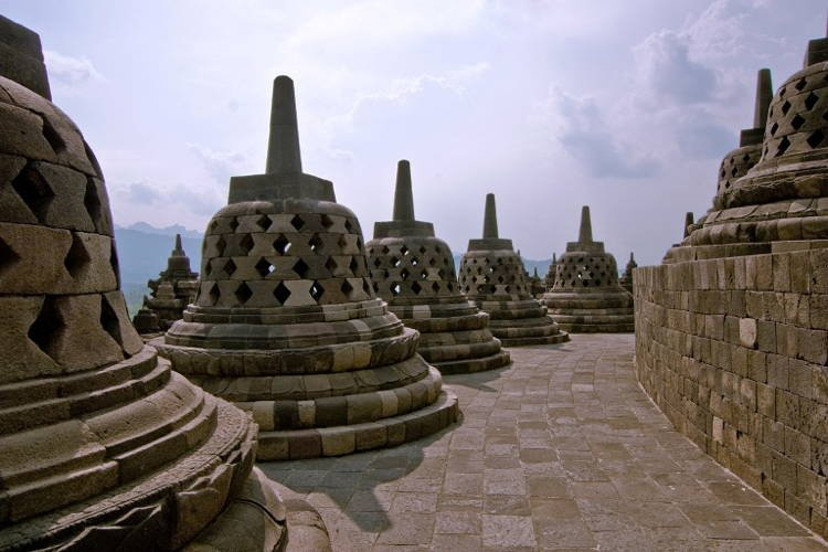 Ancient Indonesian Temple