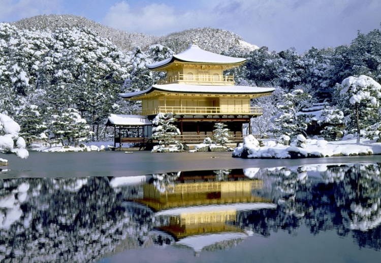 Amazing Places Of Worship Kinkakuji4