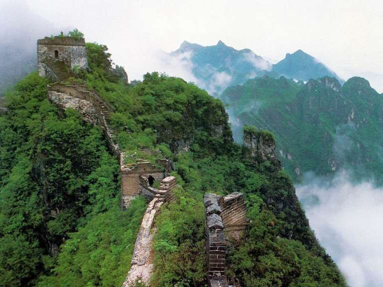 Ancient Architecture China Wall