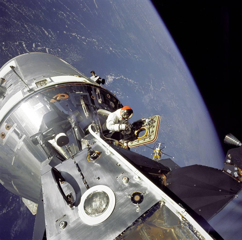 David Scott Astronaut Apollo 9